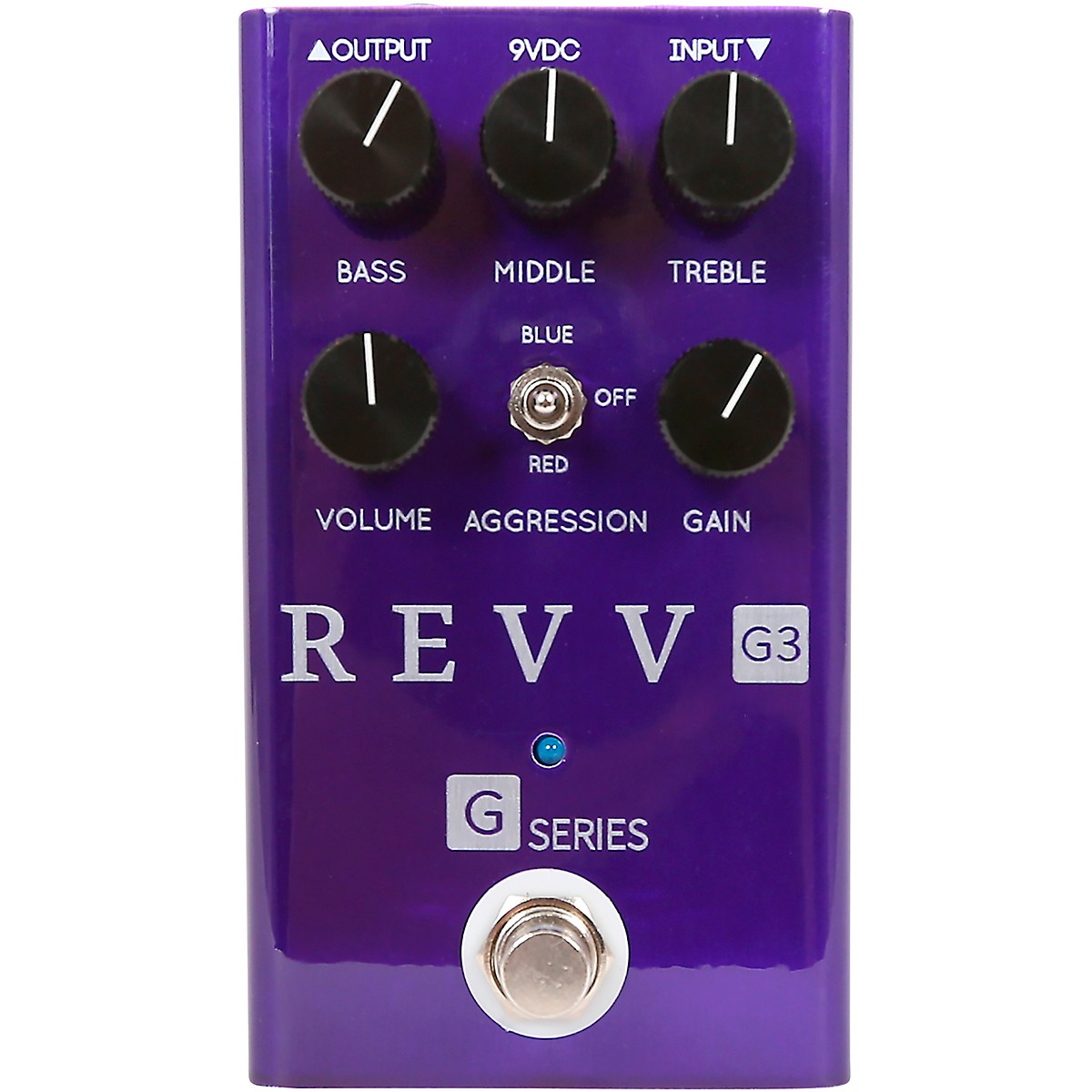 Revv Amplification G3 Distortion Effects Pedal