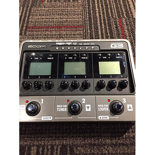 Zoom G3 Effect Pedal