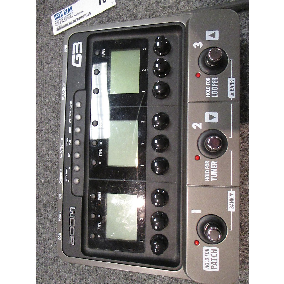 Zoom G3 Effect Processor