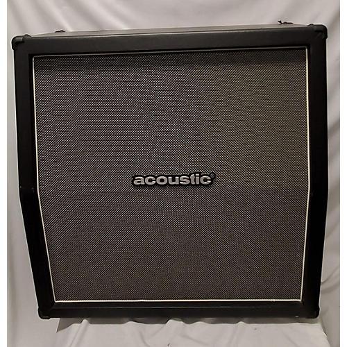 used acoustic g412a 4x12 slant guitar cabinet guitar center. Black Bedroom Furniture Sets. Home Design Ideas