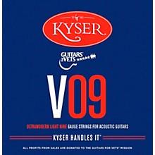 Kyser G4V Ultramodern Light Acoustic Guitar Strings for Vets