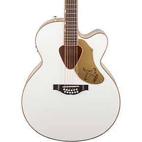 gretsch guitars g5022cwfe 12 rancher falcon jumbo 12 string acoustic electric guitar white. Black Bedroom Furniture Sets. Home Design Ideas