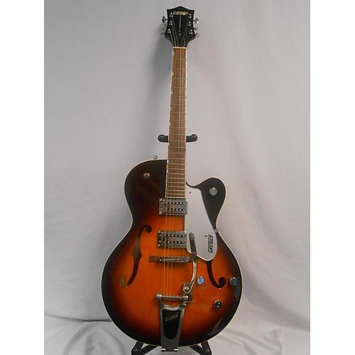 used gretsch guitars g5120 electromatic hollow body electric guitar 2 tone sunburst guitar center. Black Bedroom Furniture Sets. Home Design Ideas