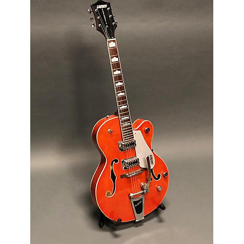 used gretsch guitars g5420t electromatic hollow body electric guitar orange guitar center. Black Bedroom Furniture Sets. Home Design Ideas