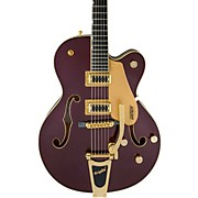 G5420TG Electromatic 135th Anniversary LTD Hollow Body Single Cutaway Electric Guitar with Bigsby Two-Tone Dark Cherry/Casino Gold