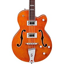 Gretsch Guitars G5440LS Electromatic Long Scale Hollowbody Bass Level 2 Orange 190839319968