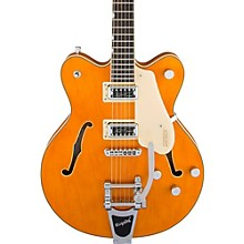 G5622T Electromatic Center Block Double Cutaway with Bigsby Vintage Orange