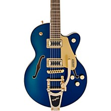 G5655TG Electromatic Center Block Jr. Bigsby Electric Guitar Azure Metallic