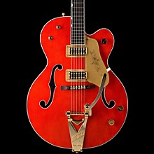 Gretsch Guitars G6120 Chet Atkins Hollowbody Electric Guitar Orange Stain