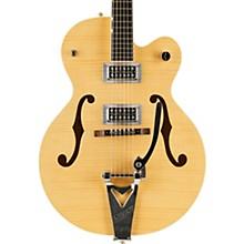 G6120SH Brian Setzer Hot Rod Flame Maple Body Semi-Hollow Electric Guitar Level 2 Blonde 190839629296