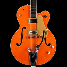 Gretsch Guitars G6120SSU Brian Setzer Nashville Hollowbody Electric Guitar Vintage Orange - Lacquer