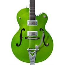 G6120T-HR Brian Setzer Signature Hot Rod Hollow Body with Bigsby Extreme Coolant Green Sparkle