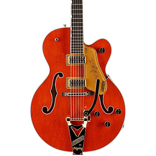 Gretsch Guitars G6120T Nashville with Bigsby Hollowbody Electric Guitar
