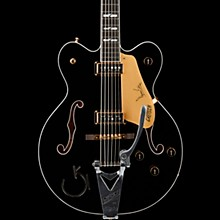 Gretsch G6120TB-DE Duane Eddy 6-String Bass with Bigsby Black Pearl