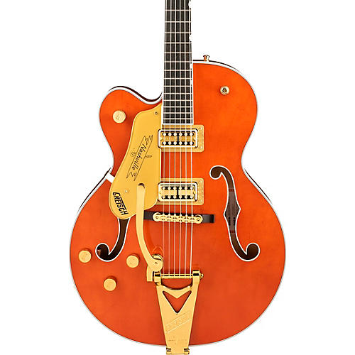 Gretsch Guitars G6120TG-LH Players Edition Nashville Hollow Body Left-Handed Electric Guitar