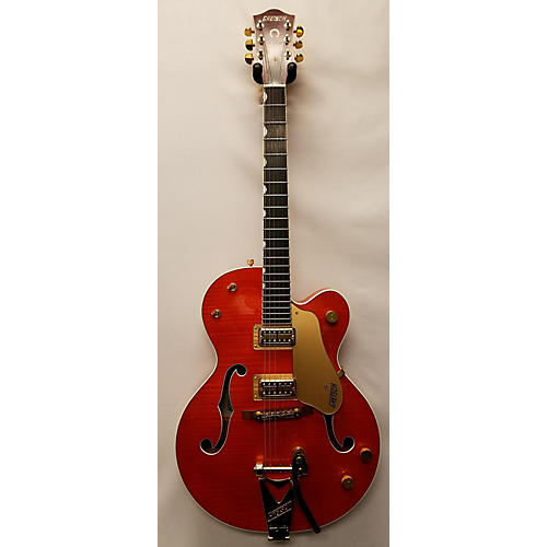 used gretsch guitars g6120tm hollow body electric guitar orange guitar center. Black Bedroom Furniture Sets. Home Design Ideas