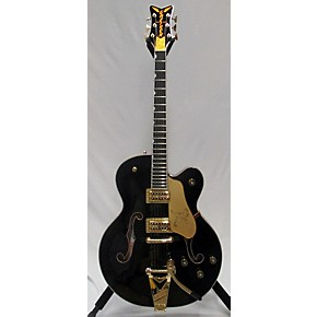 used gretsch guitars g6136t black falcon bigsby hollow body electric guitar guitar center. Black Bedroom Furniture Sets. Home Design Ideas