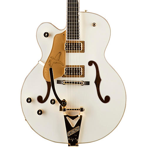 Gretsch Guitars G6136T White Falcon Left-Handed Hollowbody with Bigsby Electric Guitar