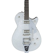 G6228-PE Players Edition Duo Jet Electric Guitar Silver Sparkle