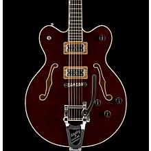 Gretsch Guitars G6609TFM Players Edition Broadkaster Center Block with String-Thru Bigsby and Flame Maple