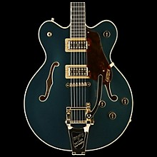 G6609TG Players Edition Broadkaster Center Block with String-Thru Bigsby and Gold Hardware Cadillac Green