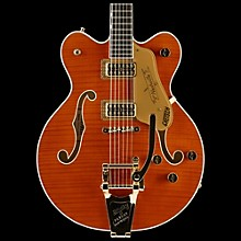 Gretsch Guitars G6620TFM Players Edition Nashville Center Block Double-Cut with String-Thru Bigsby and Flame Maple Orange Stain
