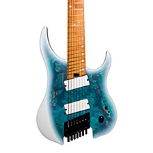 G7FOD Ghost Overdrive 7 Multi-Scale Electric Guitar Arctic