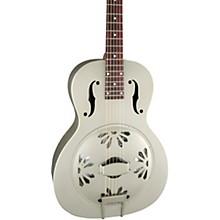 Gretsch Guitars G9201 Honey Dipper Round-Neck, Brass Body Biscuit Cone Resonator Guitar