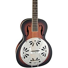 Gretsch Guitars G9220 Bobtail Round Neck Resonator Guitar Spider Cone