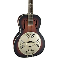 Gretsch Guitars G9240 Alligator Round-Neck, Mahogany Body Biscuit Cone Resonator Guitar