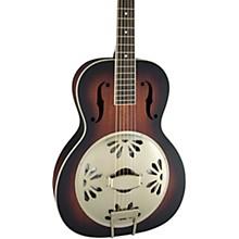 Gretsch Guitars G9240 Alligator Round-Neck, Mahogany Body Biscuit Cone Resonator Guitar