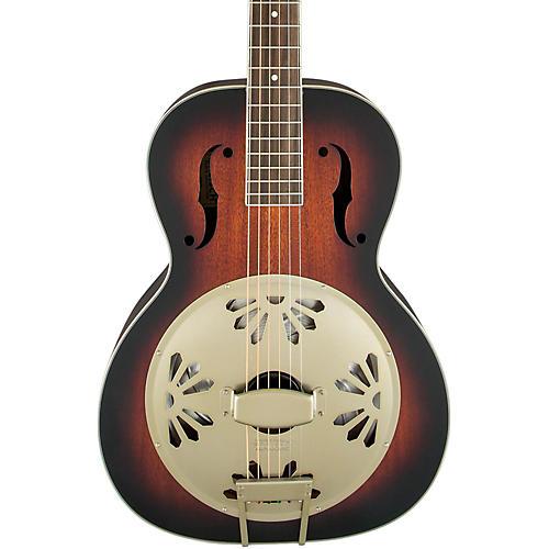 Gretsch Guitars G9241 Alligator Biscuit Round Neck Acoustic-Electric Resonator Guitar