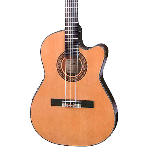 ibanez ga series ga5tce thinline classical acoustic electric guitar natural guitar center. Black Bedroom Furniture Sets. Home Design Ideas