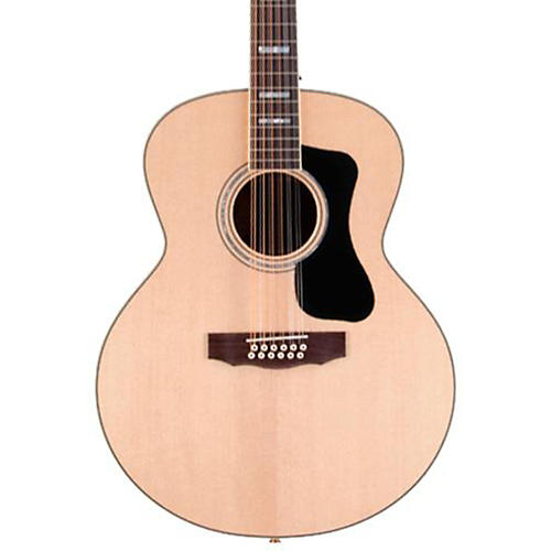 Guild GAD Series F-1512E 12-String Jumbo Acoustic-Electric Guitar