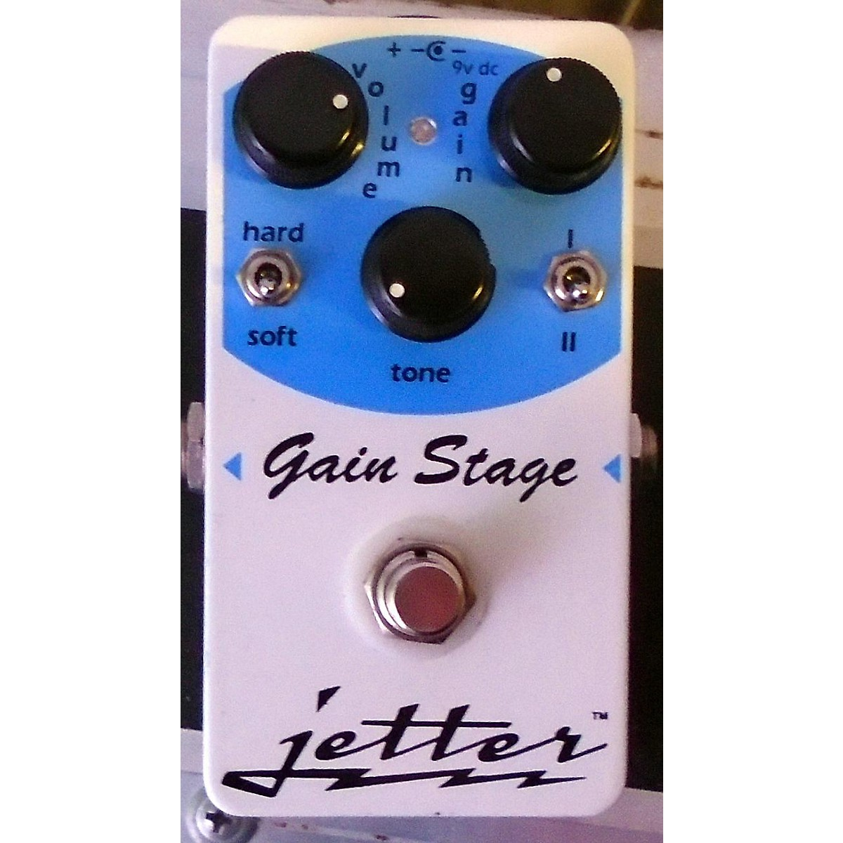 Jetter Gear GAIN STAGE BLUE Effect Pedal