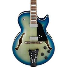 GB10EM George Benson Hollow-Body Electric Guitar Jet Blue Burst