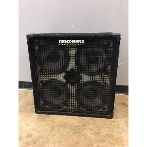 used genz benz gb410t 4ohm 4x10 bass cabinet guitar center. Black Bedroom Furniture Sets. Home Design Ideas