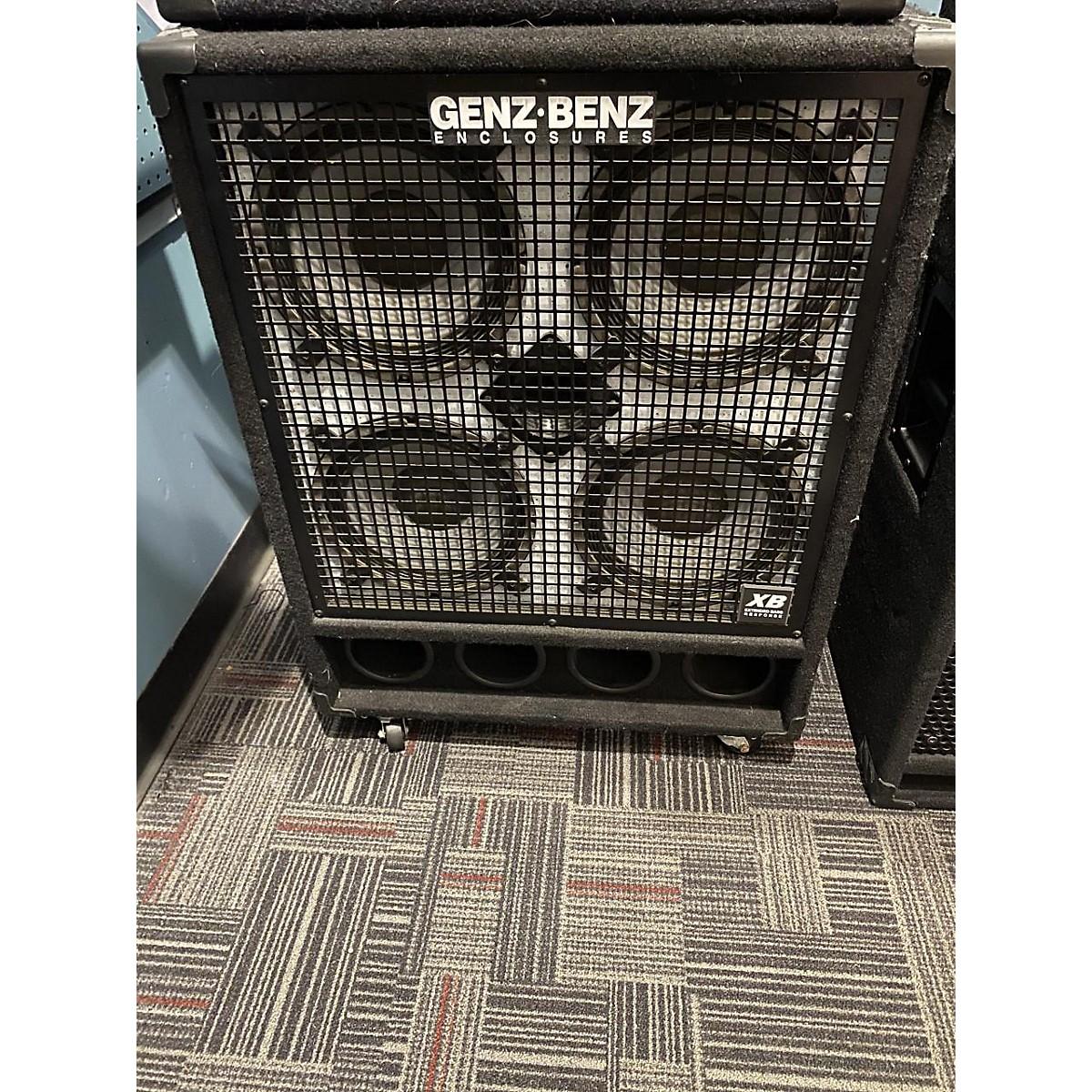 Genz Benz GB410T 4Ohm 4x10 Bass Cabinet