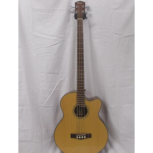 used fender gb41sce acoustic bass guitar natural guitar center. Black Bedroom Furniture Sets. Home Design Ideas