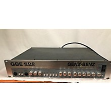 Genz Benz GBE 600 Bass Amp Head