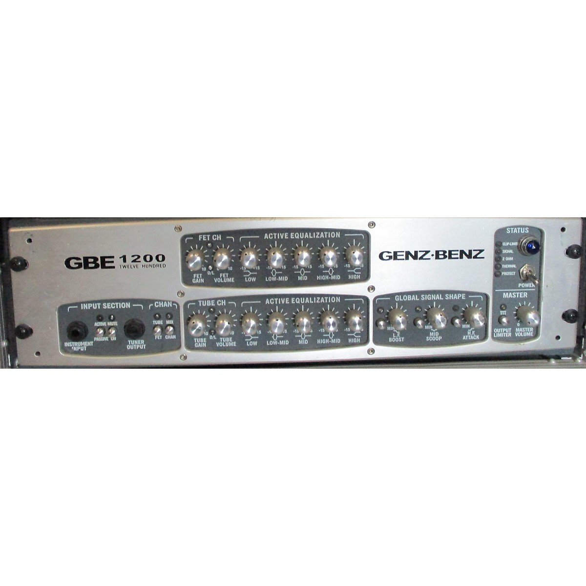 Genz Benz GBE1200 1200W Bass Amp Head