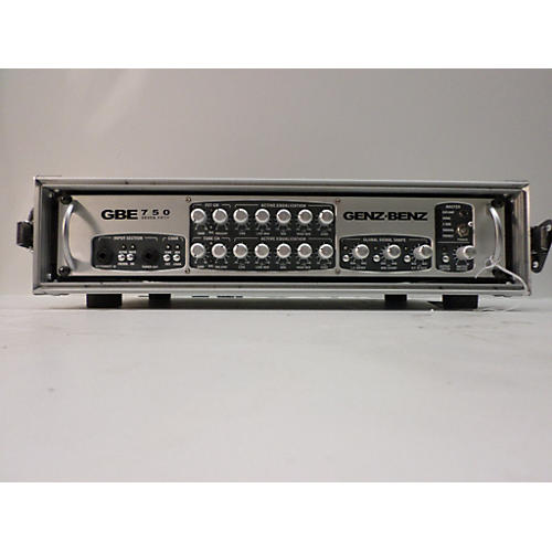 Genz Benz GBE750 WITH CASE Bass Power Amp