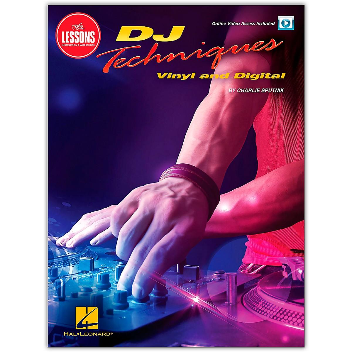 Guitar Center GC Lessons DJ Techniques Book/Online Video