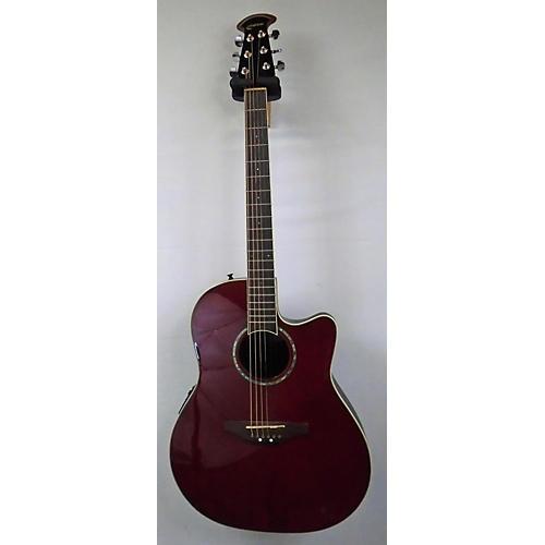 used ovation gc057m 5 celebrity acoustic electric guitar red guitar center. Black Bedroom Furniture Sets. Home Design Ideas