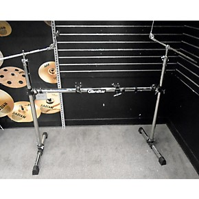 used gibraltar gcs200h drum rack guitar center. Black Bedroom Furniture Sets. Home Design Ideas