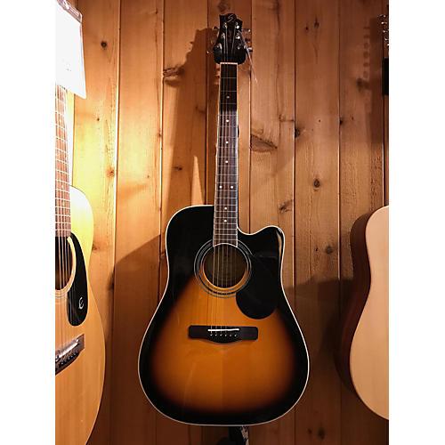 used greg bennett design by samick gd 100sce acoustic electric guitar guitar center. Black Bedroom Furniture Sets. Home Design Ideas