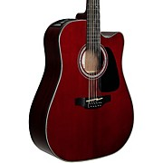 GD-30CE 12-String Acoustic-Electric Guitar Wine Red