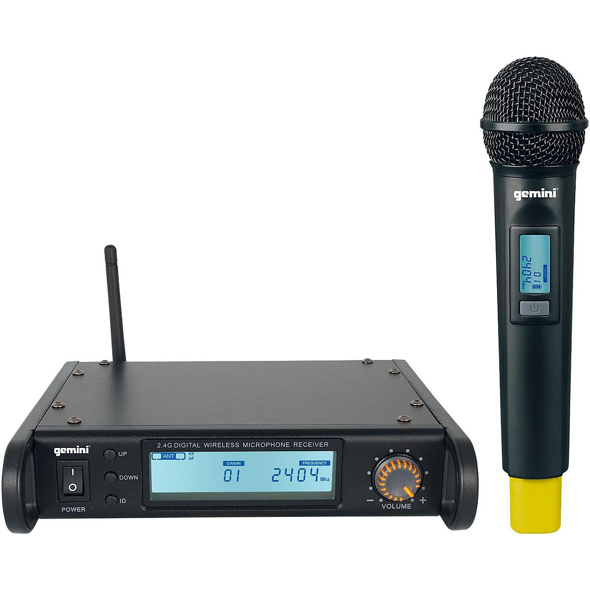 Gemini GDX-1000M Digital Wireless Microphone system