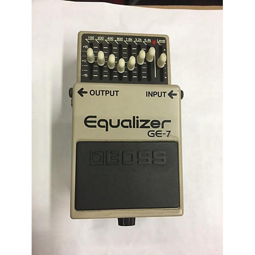 Boss GE7 Equalizer Pedal
