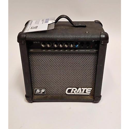 used crate gfx15 guitar combo amp guitar center. Black Bedroom Furniture Sets. Home Design Ideas